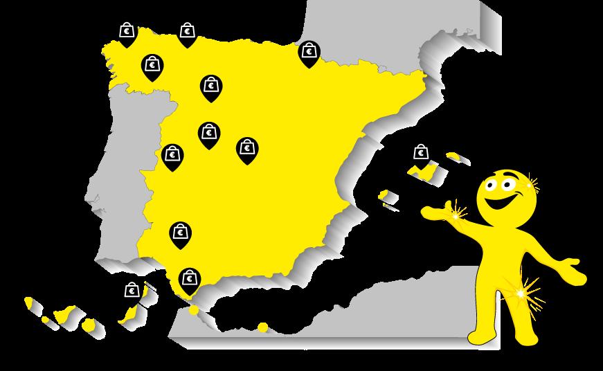 Compramos oro en toda España y Portugal
